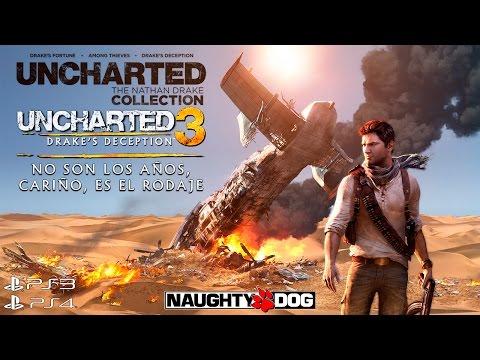 No son los años, cariño, es el rodaje - Uncharted 3: La Traición de Drake