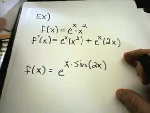 Derivatives of Exponential Functions - YouTube