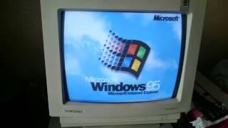 오래된 컴퓨터 켜보기