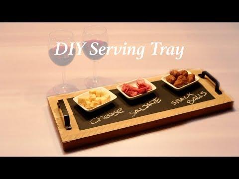 DIY - Really cool! Serving Tray/ faça...
