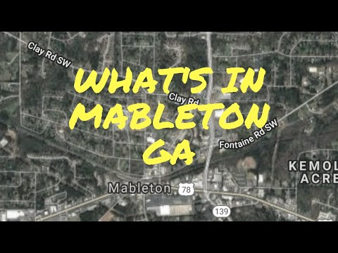 See what Mableton Georgia has to offer in 2 minutes.