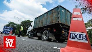A crackdown on errant lorries