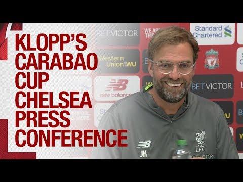Jürgen Klopp's Carabao Cup press conference | Van Dijk update, and team news ahead of Chelsea