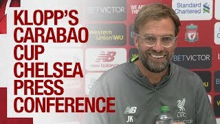 Jürgen Klopp's Carabao Cup press conference | Van Dijk update, and team news ahead of Chelsea