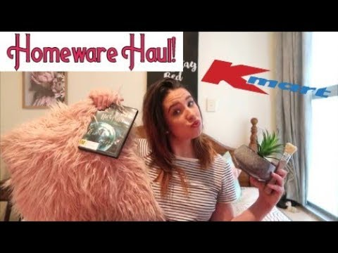 Homeware Haul! KMart, Farmers & The Warehouse!