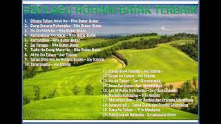 20 Lagu batak rohani terbaik (Rita Butar2, Joy Tobing, Simorangkir, Ambisi, Maduma, Simatupang)