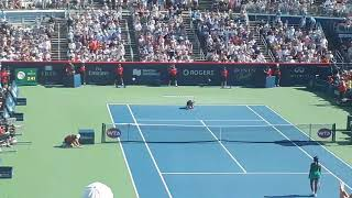 Rogers Cup Final Match Point Simona Halep
