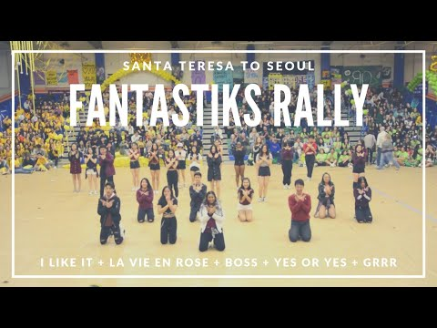 STS Kpop: FANTASTIKS Rally - I Like It + La Vie En Rose + Boss + Yes Or Yes + Grrr (3-15-19)