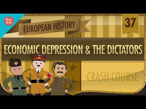 Economic Depression and Dictators: Crash Course European History #37