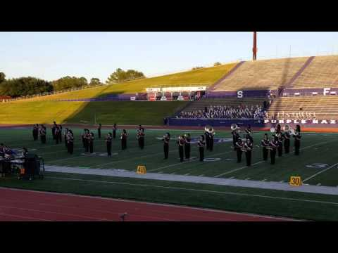 Region XXI UIL Marching Contest 2015 Palestine HS