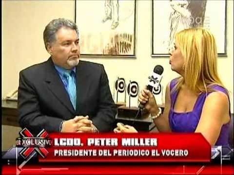 EL VOCERO RIPOSTA: PETER MILLER HABLA EN LA COMAY