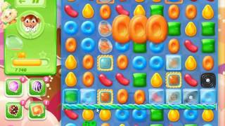 Candy Crush Jelly Saga Level 555 - NO BOOSTERS