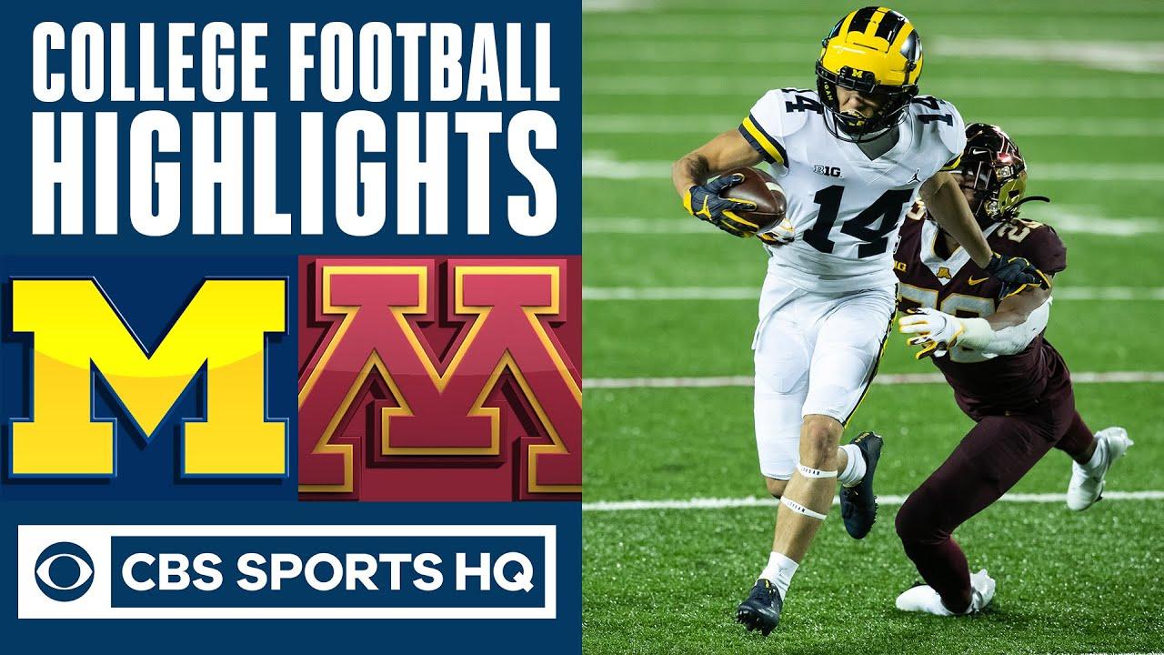 #18 Michigan vs #21 Minnesota Highlights: Wolverines took it to Golden Gophers | CBS Sports HQ