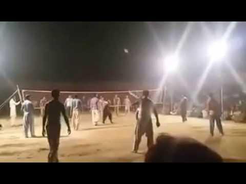 Saddam Khan joiya king of volley ball challenge match
