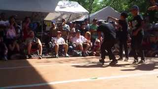 BBOY PARK 2013 U20 予選【Keel Crown vs K.A.K.B】