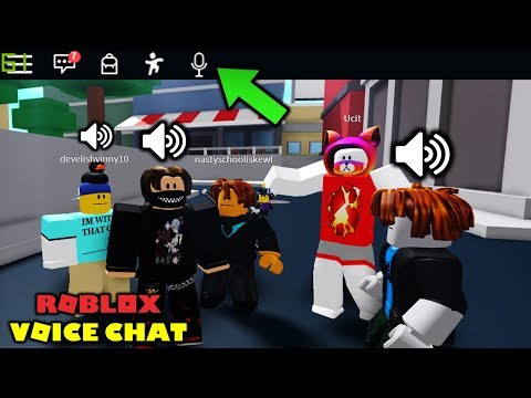 This Game Has Voice Chat Talk To Random Roblox Players Youtube