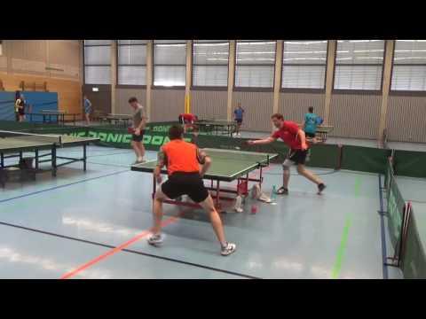 Tischtennis Commerzbank Cup Zell 20160724 3Hintergrund Scheer Versbach Defense