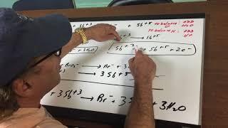 Electrochemistry Redox Balancing 2- ORGOMAN - DAT DESTROYER - Dr. Jim Romano