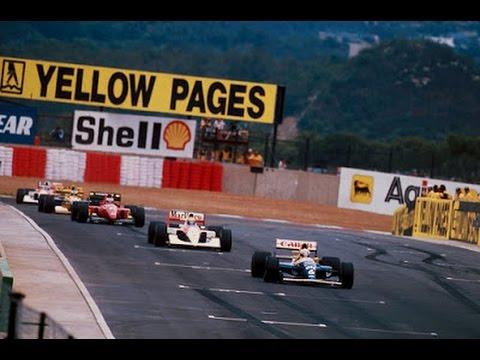 Formula 1 - Grande Premio da Africa do Sul 1992 Audio Globo