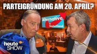 Das erste Treffen der Alternative für Deutschland