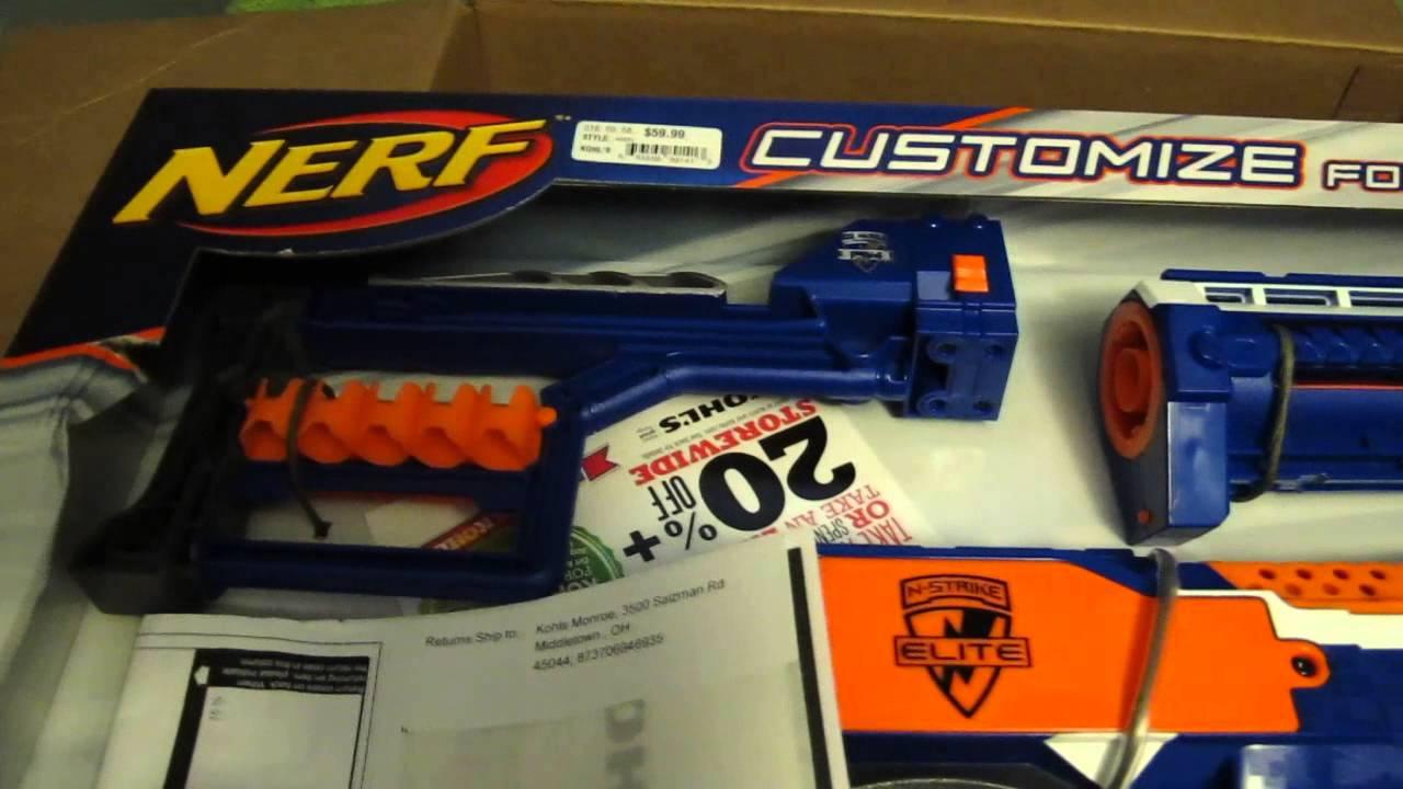 stryfe cs18 mission kit kohls exclusive an unboxing