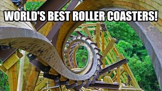 Worlds Best Roller Coasters - Ten AWESOME Coasters!