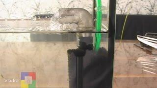 Aquarium BIOFILTER -  Eigenbau  #für ein Aquarium mit Jungfischen bzw. Garnelen #