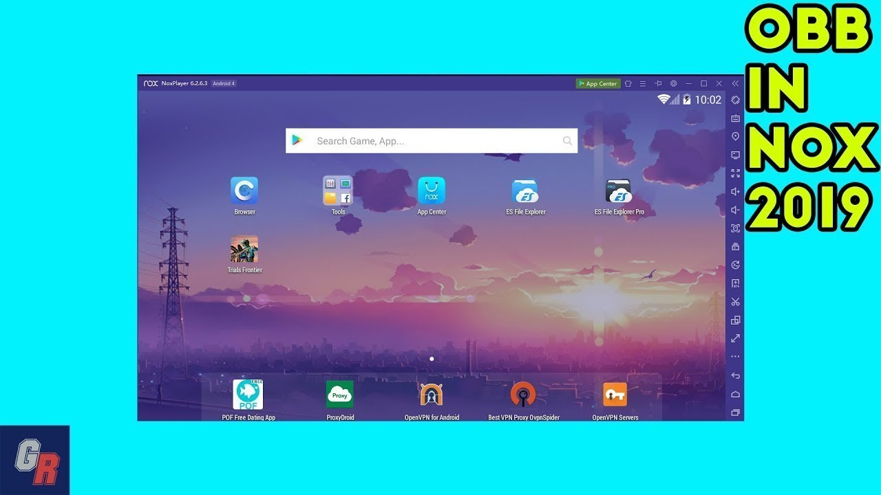 How To Install Obb File Game Data In Nox Player Emulator 2019