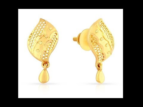 Gold Earrings For Women In 22 Karat