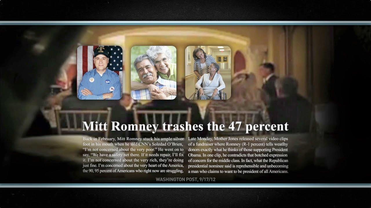 Obama campaign makes 47 percent ad
