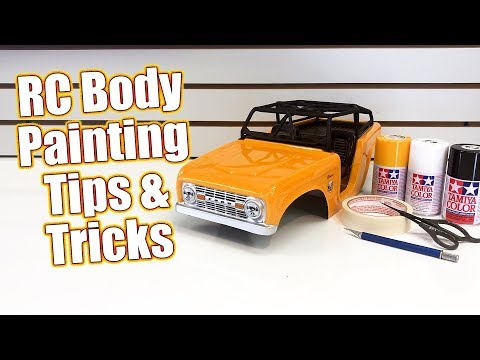 Simple RC Body Painting Tips & Tricks! – How To: Spray Paint The Pro-Line Ford Bronco | RC Driver