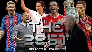 The Best FIFA Football Awards 2016 - Nominados Diferentes Categorias