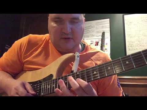 Virtuoso Guitar Secrets 3: Weird Diminished Arpeggio Motion