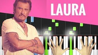 TUTO PIANO : LAURA / JOHNNY HALLYDAY