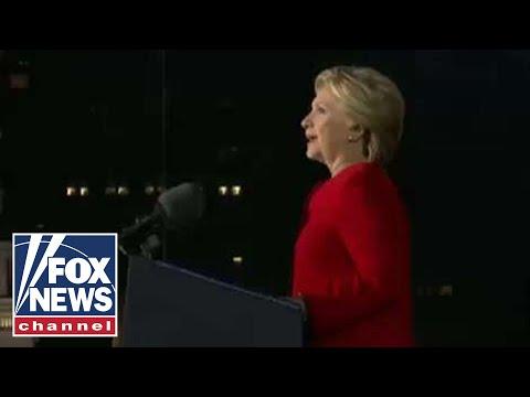 Hillary Clinton calls Trump a 'corrupt human tornado'