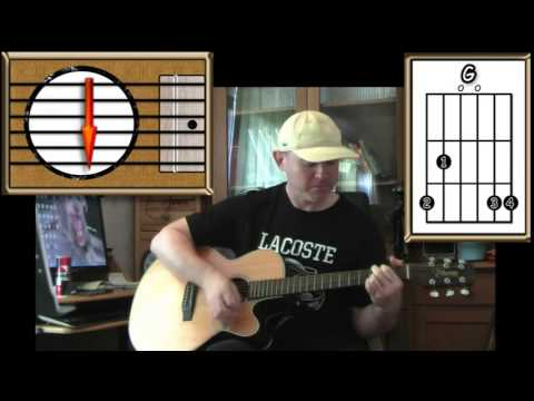 Who\'ll Stop The Rain - CCR - Acoustic Guitar Lesson - YouTube