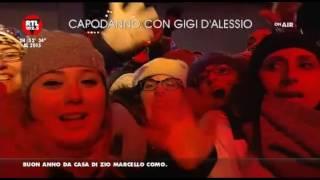 """Gigi D'Alessio - """"Capodanno piazza Plebiscito Napoli"""" - """"Noi Siamo D'Alessiani Official Group"""""""