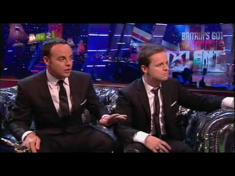 Britain's Got More Talent final - Ant and Dec interview