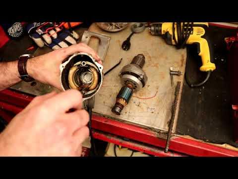 Vintage Milwaukee drill teardown