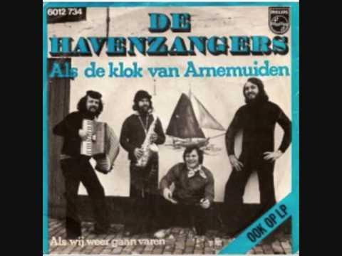Als de klok van Arnemuiden  De havenzangers 1977