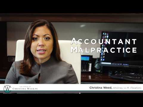 Accountant Malpractice - Representing Accountants Before the OPR and in Civil Court