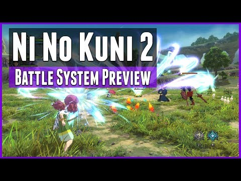 Ni No Kuni 2: Revenant Kingdom -  Battle System Preview and Gameplay