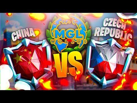 CHINA vs CZECH REPUBLIC | TOP8 MGL WORLDS | CLASH ROYALE
