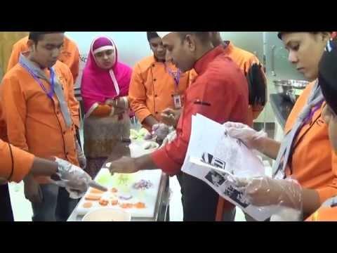Cutting Practical Class With Chef Ramzan  Ali