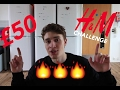 ANOTHER UNORIGINAL £50 H&M CHALLENGE!!!