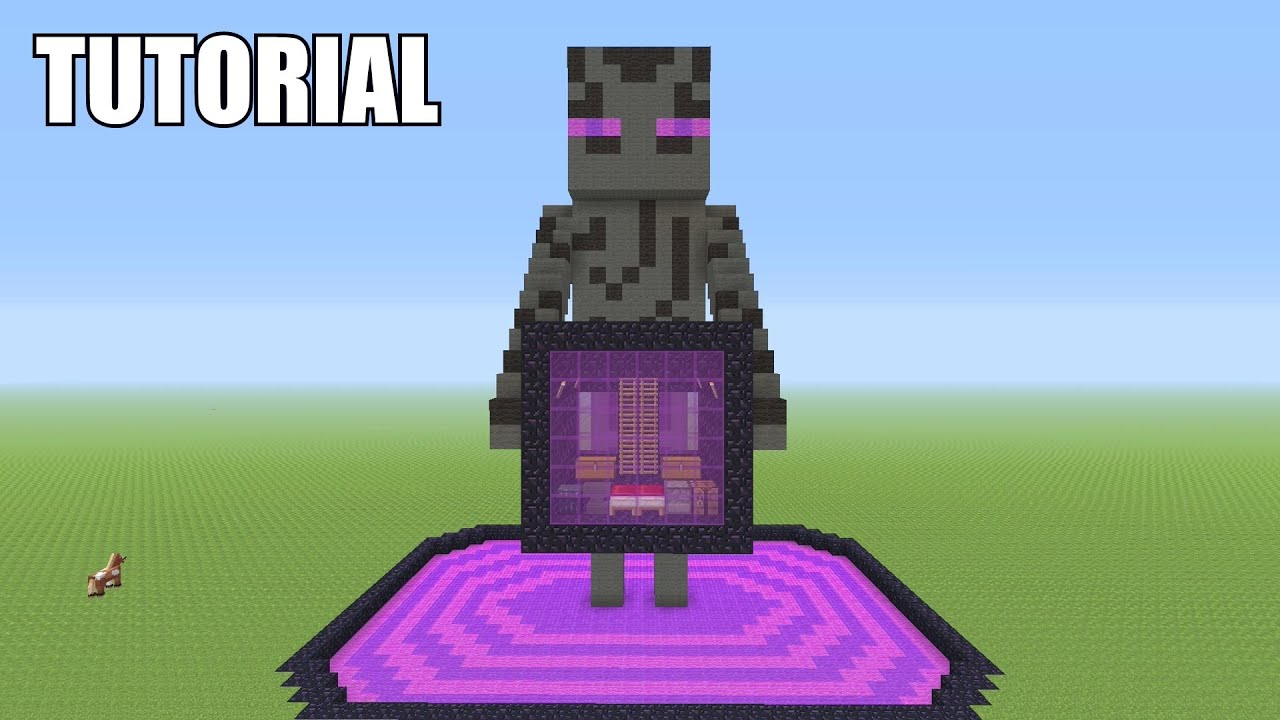 Minecraft How To Make A Bed Statue