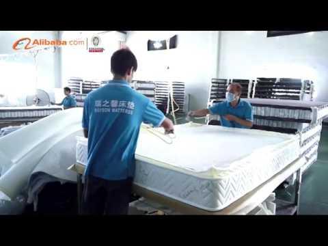 bedroom sleeping queen size box spring bed mattress