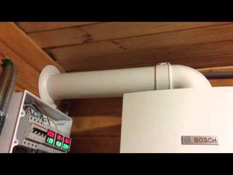 Отопление дачного дома на газовых баллонах