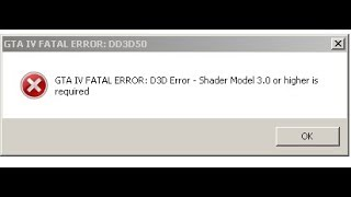 How to fix gta iv fatal error d3d error