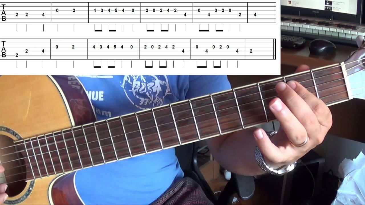Gitar Dersi Duman Y 252 Rek Solo Youtube